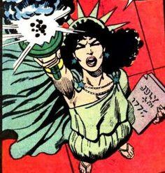Lady Liberty comic - Google Search