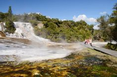 NZ River Jet the ultimate Jet Boat Adventure between Rotorua & Lake Taupo The only jet boat tour to experience geothermal & a thrilling jet boating experience Boat Tours, Great Lakes, Travel Deals, Hot Springs, New Zealand, Safari, Places To Go, Things To Do, Waterfall