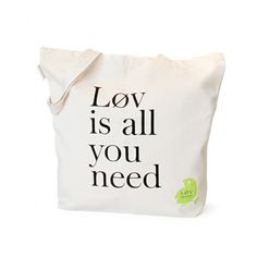 'Løv is all you need' tote bag