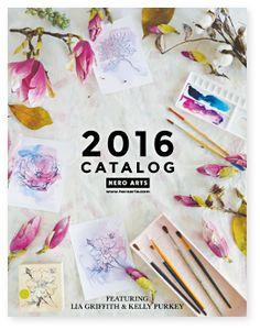 2016 Catalog Reveal + Blog Hop! | Hero Arts