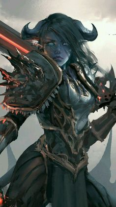 World of warcraft, artwork, draenei female warrior, wallpaper Dungeons And Dragons Characters, Dnd Characters, Fantasy Characters, World Of Warcraft Characters, Fictional Characters, Fantasy Character Design, Character Design Inspiration, Character Art, Fantasy Women