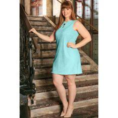Elvi Womens Plus Size La s Mint Lace Dress UK Sizes 14 26