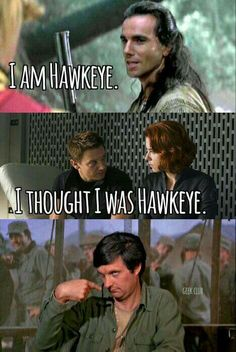 The real Hawkeye is BENJAMIN FRANKLIN PIERCE (HAWKEYE)!!!!!!!!!!!!!!!!!!!!!!!!!!!!!!!!!!!!!!!!!