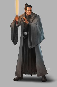 I like the idea of a lanyard on the hilt. pic credit: Marcus (Commission) by KaRolding Star Wars Jedi, Star Wars Saga, Star Wars Fan Art, Star Wars Concept Art, Star Wars Characters Pictures, Star Wars Images, Sith, Trajes Star Wars, Deviant Art