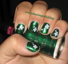 Nails on Nails on Nails: St. Patrick's Day Nails
