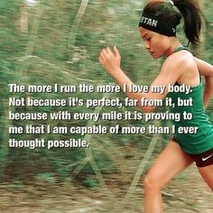 We are forever searching for our limits. When it comes to my runs, it's never been about my body's limits but only my mind's.