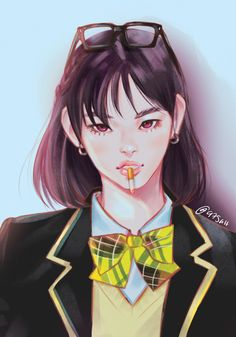 -- Min YoonJi (민윤지) una chica que se aprovecha de su belleza para usa… # Fanfic # amreading # books # wattpad Character Inspiration, Character Design, Bts Anime, Fanart Bts, Min Yoonji, Bts Girl, Kawaii, Bts Drawings, Fan Art