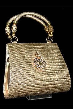 Gold Glam Bag