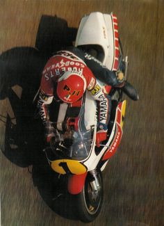 King Kenny Roberts an American Legend...