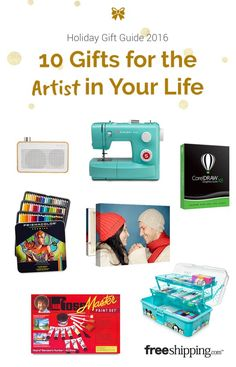 The ultimate gift guide for creative people!
