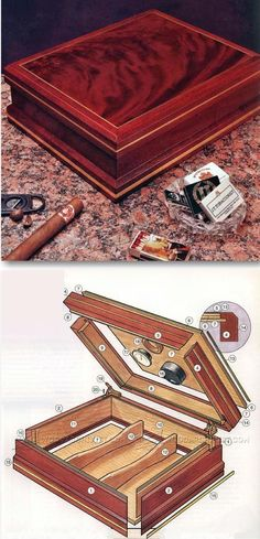 Making Cigar Humidor - Woodworking Plans and Projects | WoodArchivist.com