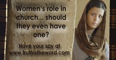 In which roles may women function in the church? My answer is 'all and any'. Which offices may women fill within the church? My answer is 'Deacons but not Elders'. In 2010 I wrote a short article on this subject … Continued Short Article, Offices, Fill, Posts, Writing, Sayings, Women, Messages, Lyrics