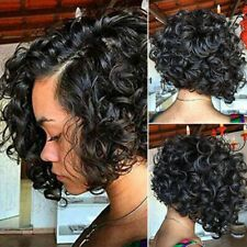 Details about Short Wavy Bob Human Hair Full Lace Wig Glueless Front Wigs Black Women Hot Short Wavy Bob Black Women Human Hair Full Lace Wig Glueless Front Wigs Afro Wig Short Curly Afro, Short Wavy Bob, Black Curly Wig, Wavy Bobs, Black Wig, Curly Short Hair Cuts For Women, Black Hair Short Bob, Curly Bob Wigs, Short Ombre