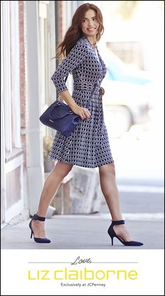 Meet your go-to dress for looking great with ease. From the new Liz Claiborne collection, exclusively at JCPenney.
