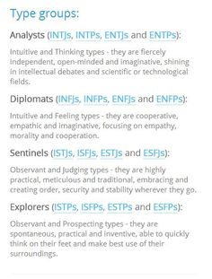 47 Best Personality Images Psicologia Personality Types 16