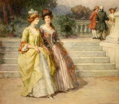 An Afternoon Stroll, by George Sheridan Knowles.