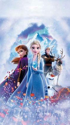 Frozen 2 frozen II Elsa Anna Sven Olaf Disney - Kitchen & Dining: Home & Kitchen Frozen Disney, Frozen Movie, 2 Movie, Frozen Anime, Frozen Cartoon, Cute Frozen, Ana Frozen, Frozen Frozen, Dark Disney