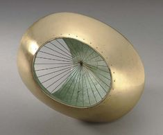 """Barbara Hepworth - """"Sculpture with Colour and Strings"""""""