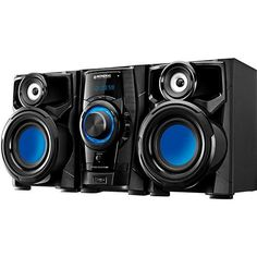 Mini System Mondial MS05 260W RMS, USB e... - Americanas.com