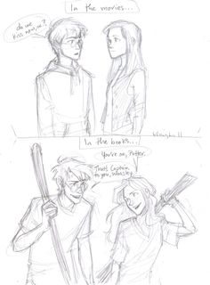 Film vs. Book Harry & Ginny by *burdge-bug...I agree that the relationship in the movie wasn't handled quite right