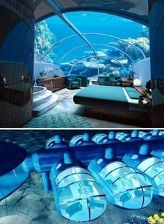Undersea Suite at The Poseidon Resort, Fiji