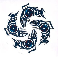 salish art. Love.