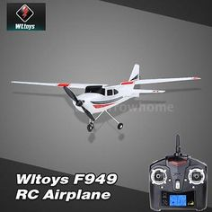 ﹩57.59. Wltoys F949 2.4G 3Ch RC Airplane Fixed Wing Plane Helicopter Remote Control Toys    ASIN - B00SKZOVR0, Transmitter battery - 6 * AA Battery(not included),