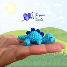 Free Tiny sleeping baby dino pattern by Adriana Gori Toys Patterns amigurumi ravelry Tiny sleeping baby dino Crochet Dinosaur Patterns, Crochet Amigurumi Free Patterns, Crochet Dolls, Baby Patterns, Ravelry Crochet, Ravelry Free, Knitting Patterns, Cute Crochet, Crochet Baby