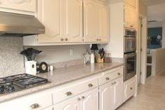 Are you tired of your dark wood cabinets? Check out this kitchen cabinet painting step by step tip for painting your cabinets like a pro without sanding and stripping. Check out the before and after of these new white kitchen cabinets. Tall Kitchen Cabinets, Painted Cupboards, Painting Kitchen Cabinets, Diy Cabinets, Kitchen Paint, New Kitchen, Kitchen White, Kitchen Store, Kitchen Counters