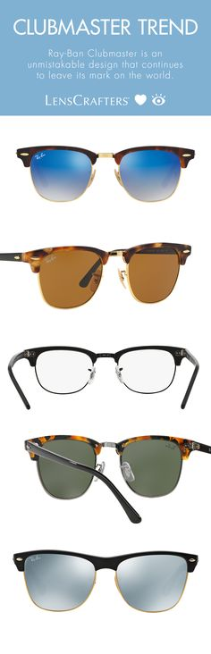90ba999615f Ray-Ban invented the effortlessly cool look with the Clubmaster and they  haven t