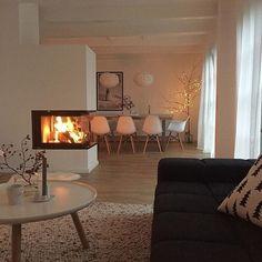 Die 122 besten Bilder von Kamin Wohnzimmer | Fireplace living rooms ...