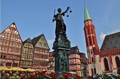 Romer Square, Frankfurt, Germany