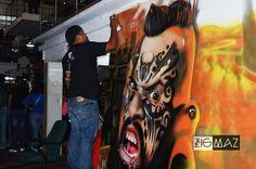 (VIDEO) Entrevista de ZigmaZ al graffitero Romanok  Aprovechando la invitación a la Venezuela Expo Tattoo 2015 el equipo de ZigmaZ apreció una pieza que se lanzó el famoso y talentoso graffitero Romanok y no nos resistimos a entrevistarlo.  Lee más en Zigmaz.com