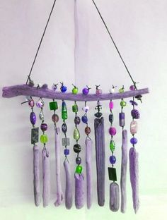 How To Decor New Home DIY Beaded Wind Chime | Craft projects for every fan!