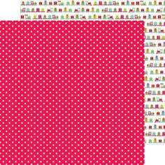 Item:4340 merry mistletoe double-sided cardstock