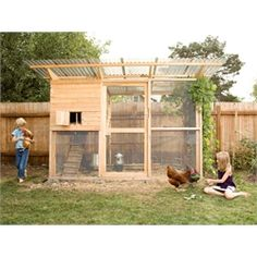 """Garden Coop"" Building Plans (up to 8 chickens) from My Pet Chicken"