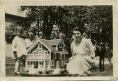 A snapshot from long ago captures the essence of childhood and memorializes part of the dollhouse's lifespan. Dollhouses hold an important place in our culture.