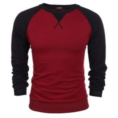 Amazon.com: Coofandy Men's Long Sleeve T-shirt Casual Tee Cotton... ($17) ❤ liked on Polyvore featuring men's fashion, men's clothing, men's shirts, men's t-shirts, men, shirts, boy, men's tops, tops and mens long sleeve shirts