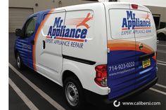 Mr. Appliance van wrap