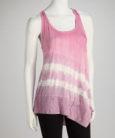 Take a look at this Gypsy Daisy Lavender Racerback Tunic by Gypsy Daisy & Libertalia on #zulily today!