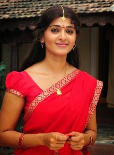 Anushka Shetty Cute Stills In Red Dress - Anushka Shetty