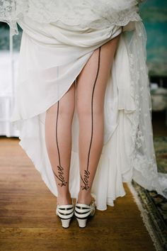 How fun are these tights from http://www.mytights.com/us/pamela-mann-love-seam-tights.html photo by Cramer Photo