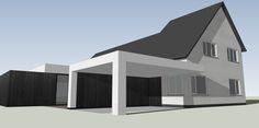 Voorontwerp project VO Uitbreiding bestaande woning