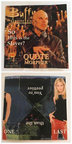 Buffy the Vampire Slayer - Sugar Puffs Morpher.  #btvscollector #btvs #buffy #buffythevampireslayer