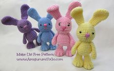 Kijk wat ik gevonden heb op Freubelweb.nl: een gratis haakpatroon van Amigurumi to Go om deze leuke Bigfoot Bunny te maken https://www.freubelweb.nl/freubel-zelf/zelf-maken-met-haakgaren-konijn-6/