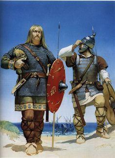 Vandals, a Germanic sub-tribe