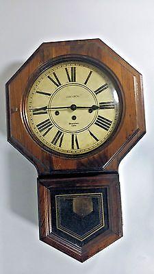 Retro Seiko Japan 30 Day Wall Regulator Chime Clock