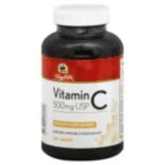 I'm learning all about Shoprite Vitamin C 500 mg at @Influenster!