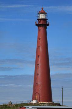 Lampene har fått navn fra norske fyrlykter. Andenes Fyr