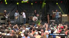"The Black Crowes performs ""Jumpin' Jack Flash"" at Gathering of the Vibes..."